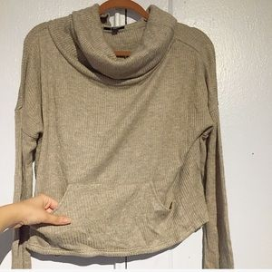 ✨Cozy Comfy Oatmeal Cowl Neck Sweater✨